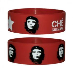 Che Guevara Face Rubber Wristband