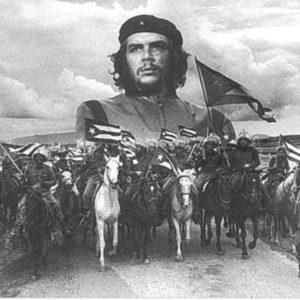 Flag Che Guevara Black & White