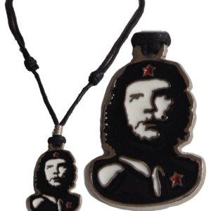 Necklace Che Guevara w. Metal Pendant