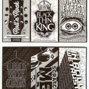 OCB Black Thinking Sticker