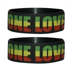 One Love Rubber Wristband