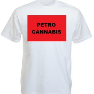 Cannabis Canada White Tee-shirt