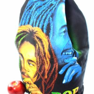 Rasta Backpack Bob Marley Blue and Yellow