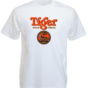 Tiger Beer Singapore White Tee-Shirt
