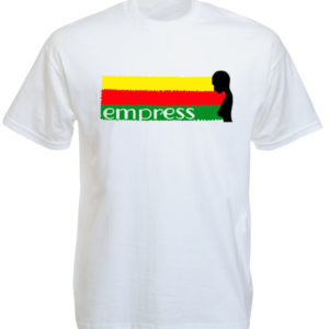 Empress Rasta White Tee-Shirt