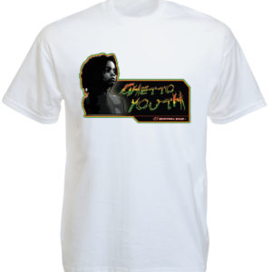 Kid Portrait Guetto Youth White Tee-Shirt