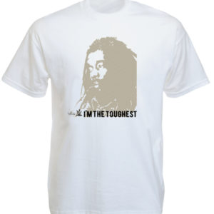 Peter Tosh I'm The Toughest White Tee-Shirt