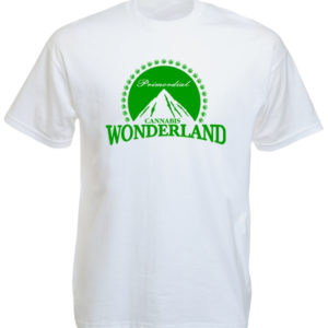 Paramount Wonderland Cannabis White Tee-Shirt