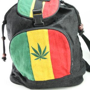 Rasta Backpack Leaf Reggae Style