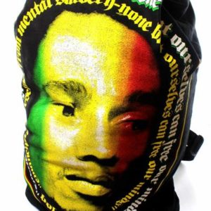 Rasta Backpack Bob Marley Big Face