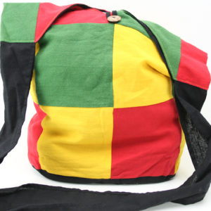 Rasta Hemp Shoulder Squares Big Bag