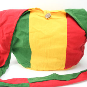 Rasta Striped Hemp Shoulder Big Bag