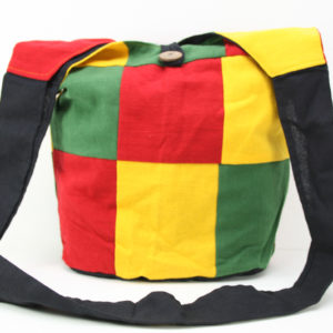 Rasta Hemp Shoulder Squares Hippie Bag