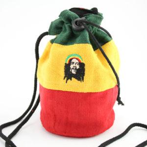 Bob Marley Hemp Purse Big Handbag