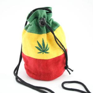 Leaf Hemp Purse Big Handbag