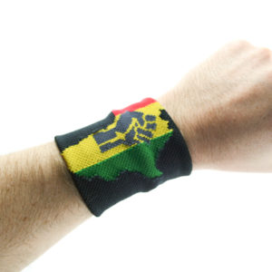 Africa Power Wristband Rasta Colors