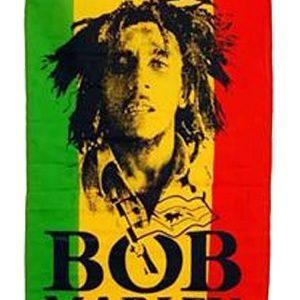 Rasta Flag Bob Marley