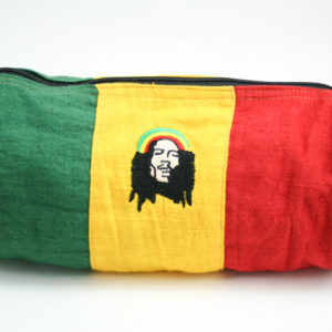 Rasta Bob Marley Hemp Tube Bag