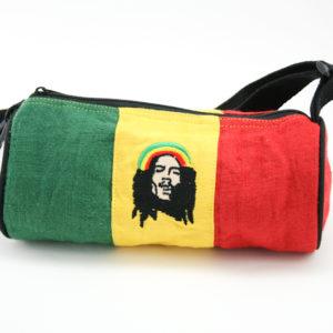 Bob Marley Hemp Rasta Small Tube Bag