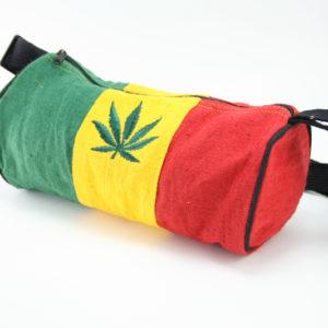 Leaf Hemp Rasta Small Tube Bag