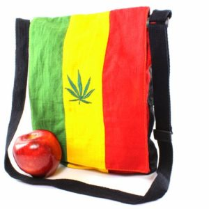 Rasta Hemp Messenger Bag