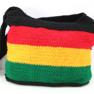 Rasta Knit Hippie Shoulder Bag